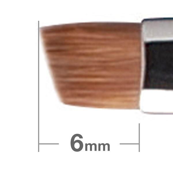 Кисть для бровей HAKUHODO Eyebrow Brush Angled B162