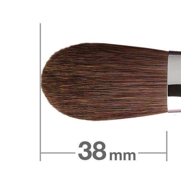 Кисть для румян HAKUHODO Blush Brush Round & Flat 211