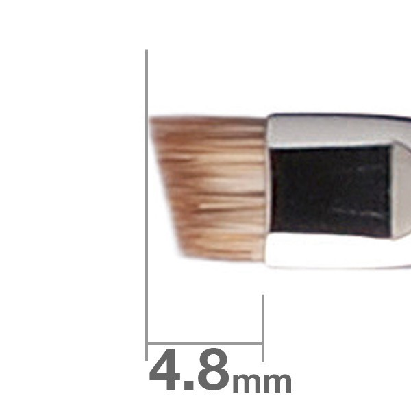 Кисть для бровей HAKUHODO Eyebrow Brush Angled B163