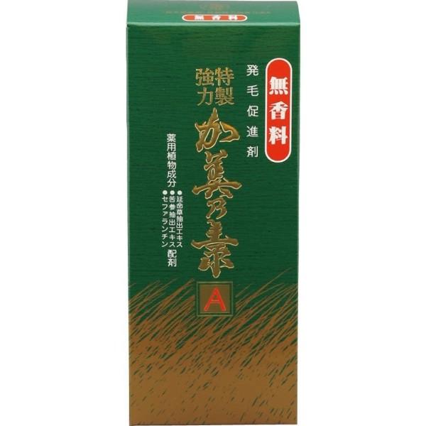 Лекарственный тоник KAMINOMOTO TOKUSEI  Kyoryoku А против алопеции и для стимуляции роста волос