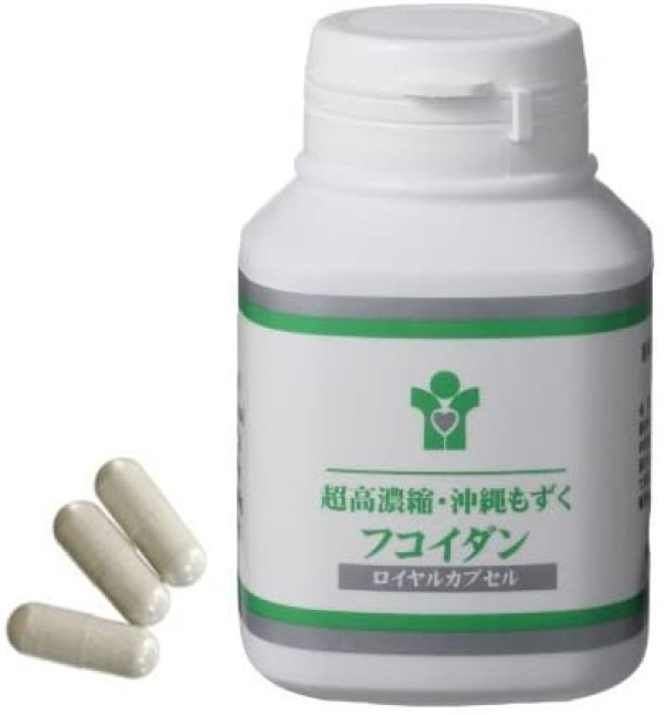 Концентрированный фукоидан Nigawa Okinawa Mozuku Fucoidan 100% Royal Capsule