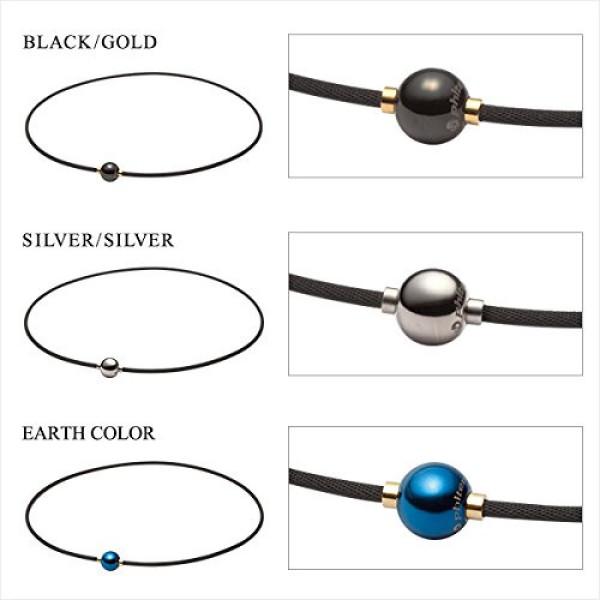 Титановое ожерелье Phiten X100 RAKUWA MIRROR BALL