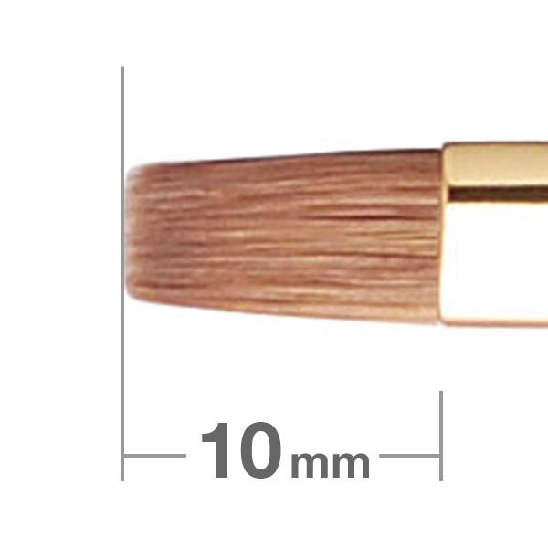 Кисть для губ HAKUHODO Lip Brush Flat S172Bk