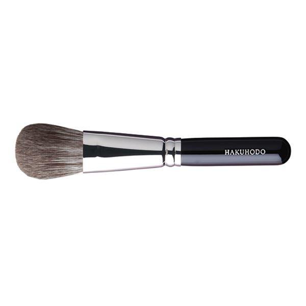 Кисть для румян HAKUHODO Blush Brush M Round & Flat G506