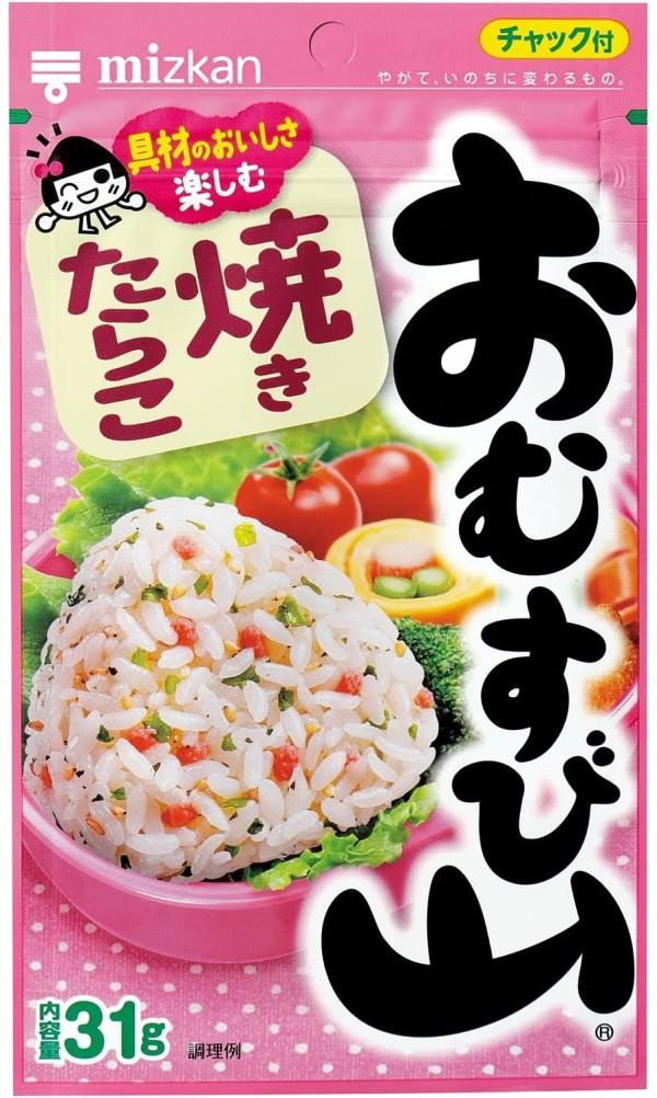 Натуральная приправа к рису Omusubiyama с икрой минтая