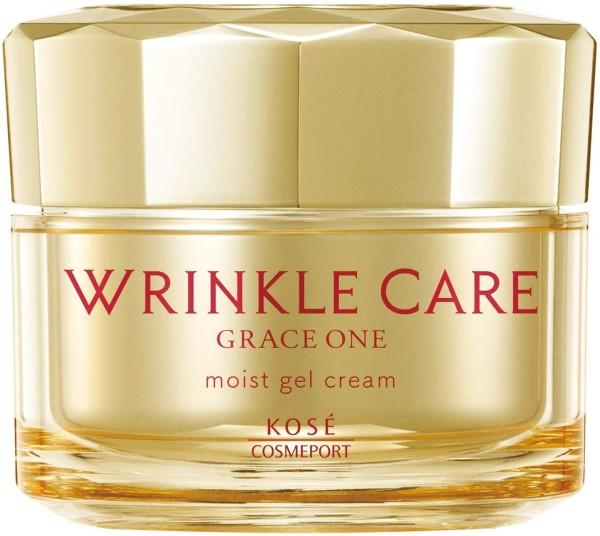 Увлажняющий гель-крем для лица против морщин KOSE Wrinkle Care Grace One Moist Gel Cream