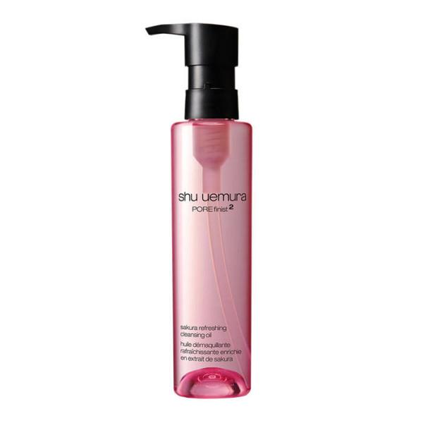 Гидрофильное масло с экстрактом сакуры Shu Uemura POREfinist 2 Sakura Refreshing Cleansing Oil