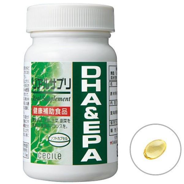 Омега 3 кислоты DHA & EPA Real Supplement