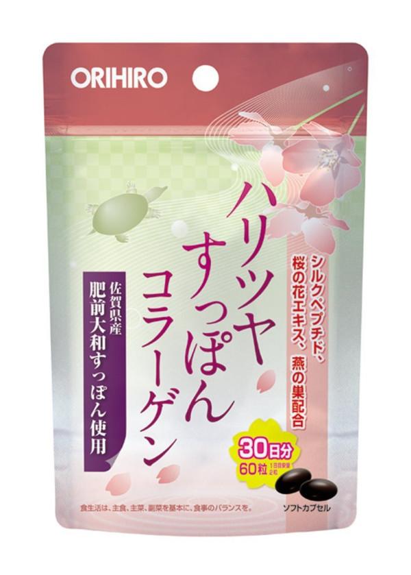 Черепаший коллаген Orihiro Haritsu Tupon Collagen