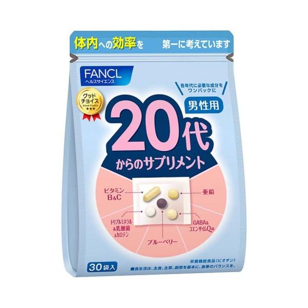 Витаминный комплекс FANCL для мужчин от 20 лет