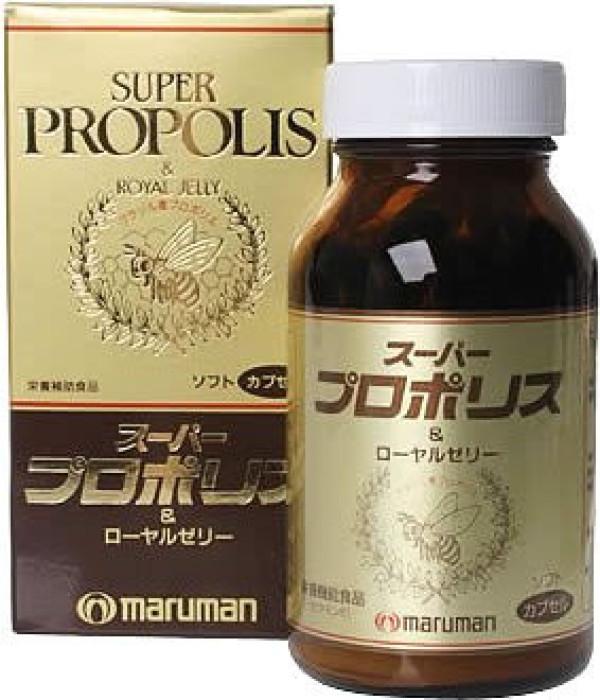 Супер прополис и маточное пчелиное молочко MARUMAN SUPER PROPOLIS & ROYAL JELLY