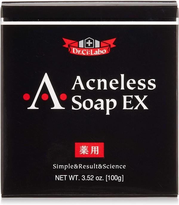 Мыло против акне Dr.Ci:Labo Acneless Soap EX