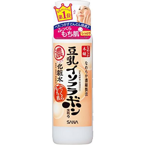 Увлажняющий лосьон Sana Nameraka Honpo Soy Milk Moisturizing Lotion