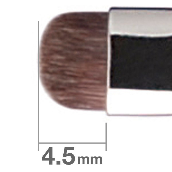 Кисть для теней HAKUHODO Eye Shadow Brush Round & Flat Short  B5511