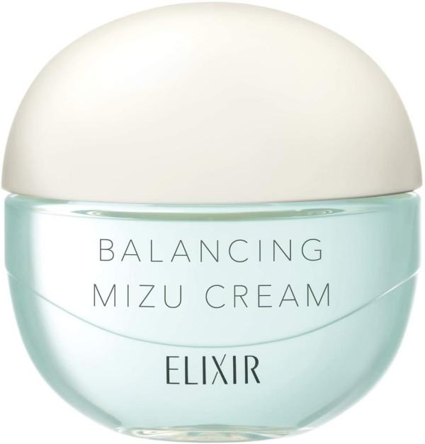 Балансирующий крем для увлажнения кожи и предотвращения акне Shiseido Elixir Balancing Mizu Cream