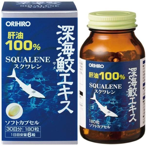 Сквален из печени акулы Orihiro SQUALENE