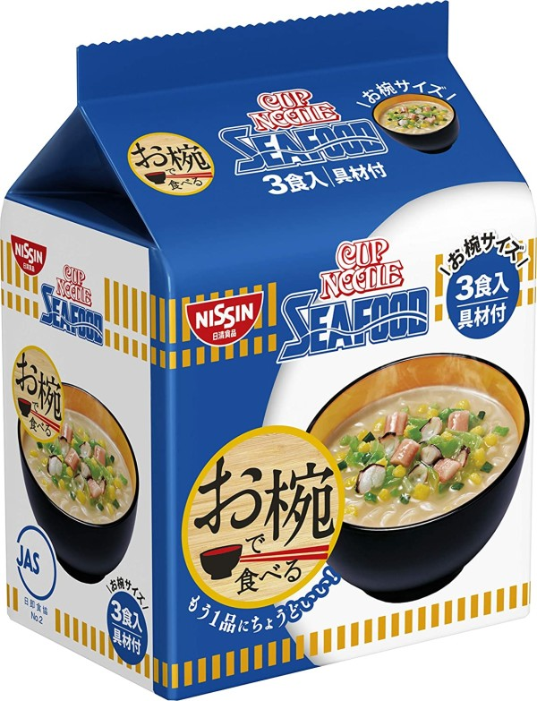 Лапша с морепродуктами Nissin Foods Cup Noodle Seafood