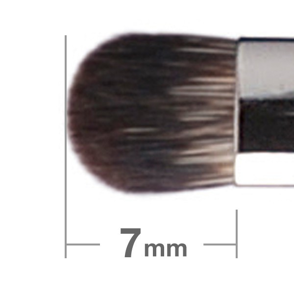 Кисть для теней HAKUHODO Eye Shadow Brush Round & Flat  B144