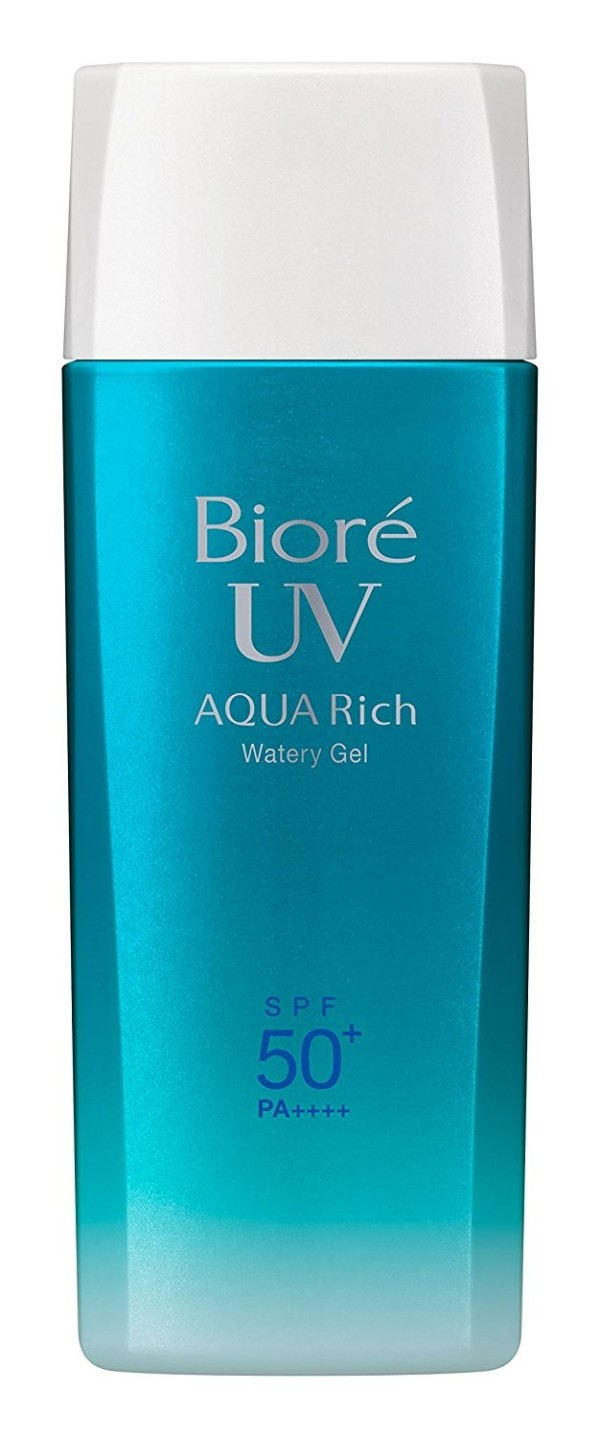 Солнцезащитный гель Biore UV AQUA Rich Watery Gel SPF50 +