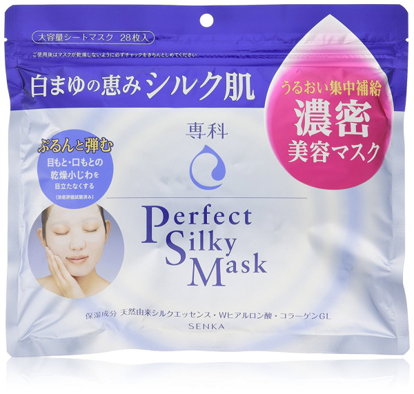 Маска для сухой кожи Shiseido Senka Perfect Silky Mask
