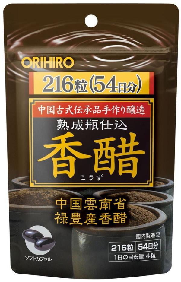 Бурый рисовый уксус Orihiro