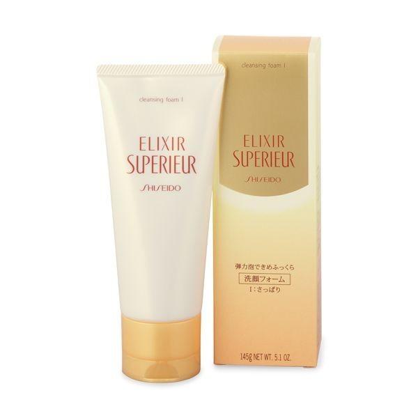 Пенка для умывания Shiseido ELIXIR SUPERIEUR Cleansing Foam I для нормальной и жирной кожи