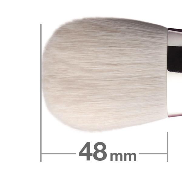 Кисть для пудры HAKUHODO Powder Brush Round & Flat J5541