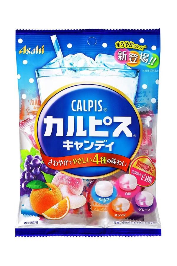 Фруктовые леденцы с лактобактериями Asahi Calpis Candy