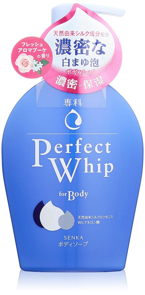 Гель для душа Shiseido Senka Perfect Whip For Body Fresh Aroma Bouquet