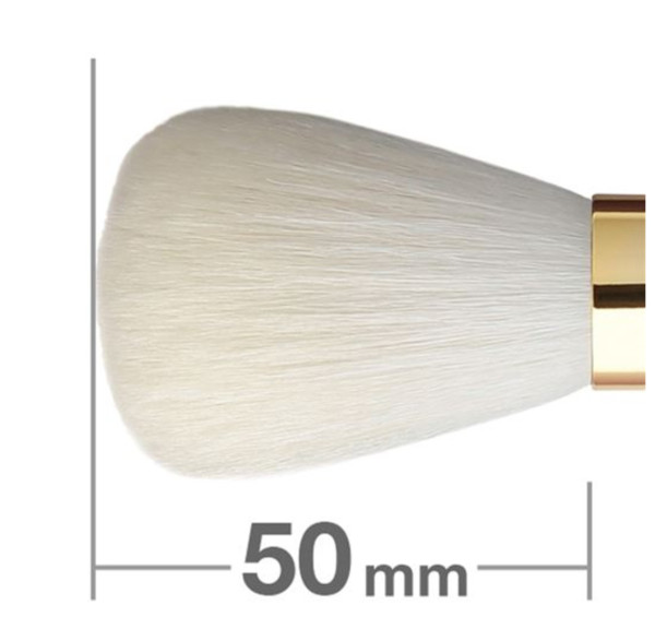 Кисть для пудры HAKUHODO Powder Brush Round S104Bk