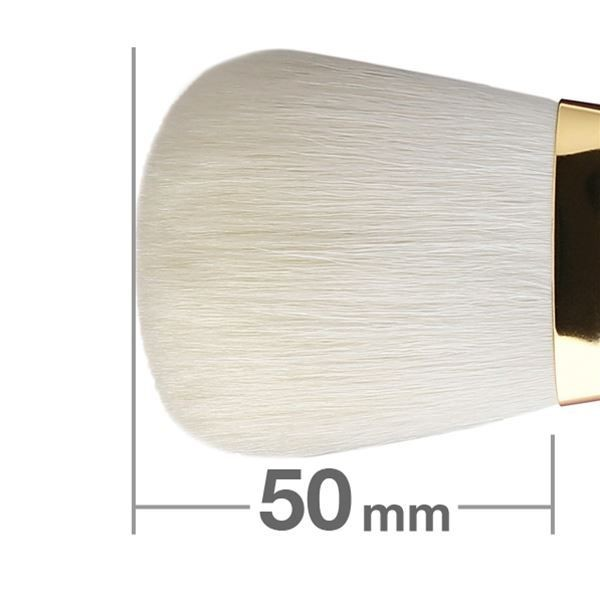 Универсальная кисть HAKUHODO  Finishing Brush Round & Flat S101Bk