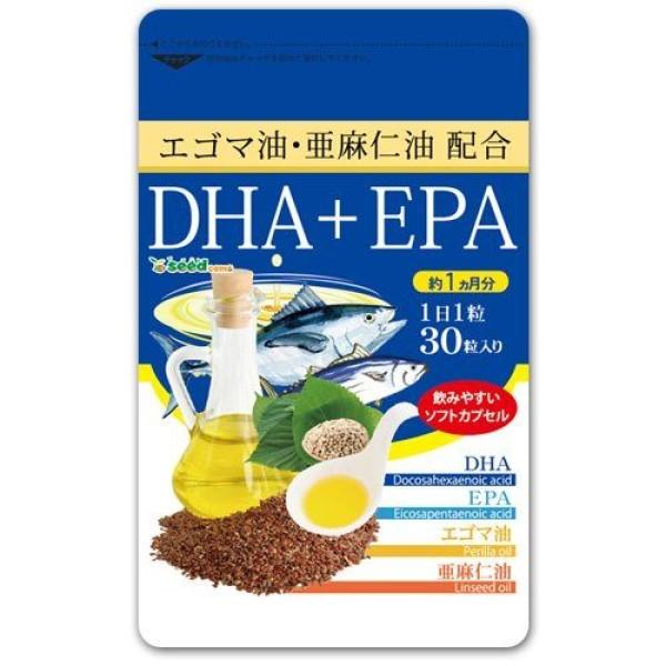 Омега-3 жирные кислоты SeedComs Linseed Oil + Sesame Oil & DHA + EPA