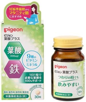 Фолиевая кислота для беременных Pigeon Folic Acid Plus