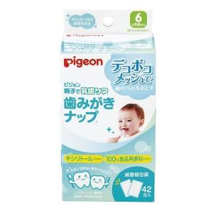 Влажные салфетки Pigeon для чистки молочных зубов