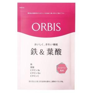 Жевательные таблетки с железом и фолиевой кислотой для женщин Orbis Iron & Folic Acid Strawberry Flavor