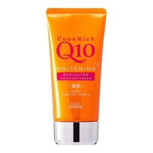 Увлажняющий и отбеливающий крем для рук с коэнзимом Q10 CoenRich Q10 Whitening Medicated Hand & Finger Kose Cosmeport