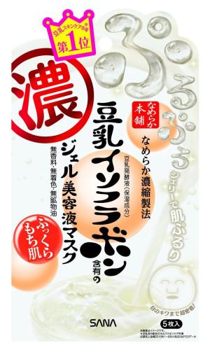 Маска для увлажнения кожи Sana Honpo Gel Beauty Mask