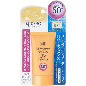 Солнцезащитная эссенция Shiseido Senka Mineral Water UV Essence SPF50+/PA++++