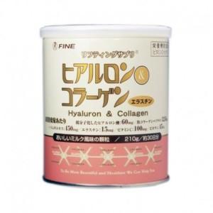 Быстрорастворимый порошок с гиалуроновой кислотой и коллагеном FINE JAPAN Hyaluron & Collagen
