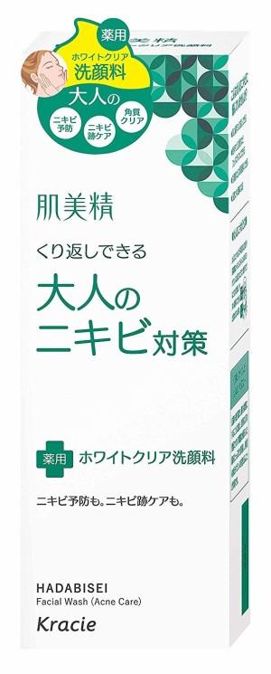 Лечебная пенка Kracie Hadabisei Facial Wash Acne Care для умывания против акне у взрослых