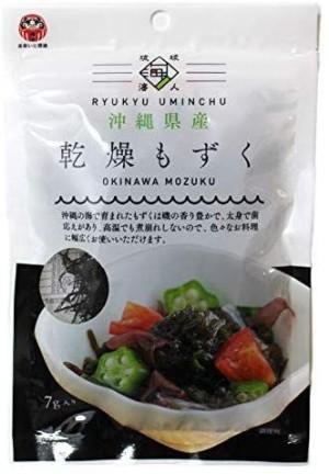 Сушеная модзуку Ryukyu Uminchu Okinawa Mozuku