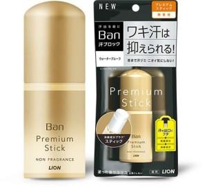 Антиперспирант-стик Lion Ban Sweat-Blocking Stick Premium Gold Label