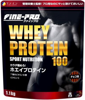 Протеиновый коктейль с поливитаминами FINE JAPAN Whey Protein Pro
