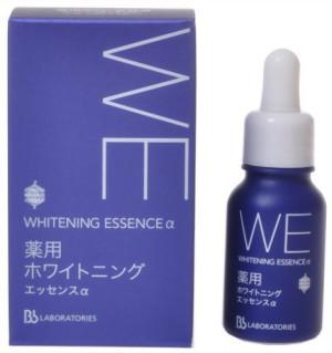 Эссенция против пигментных пятен Whitening Essence Bb Laboratories с антивозрастным эффектом