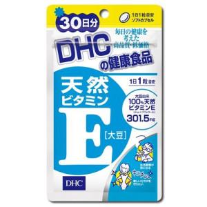 Натуральный витамин Е DHC в капсулах для красоты и молодости