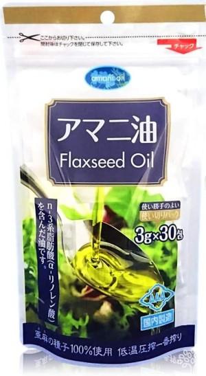 Льняное масло в стиках Nichiga Flaxseed Oil