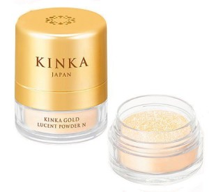 Пудра с наночастицами золота Kinka Gold Lucent Powder N
