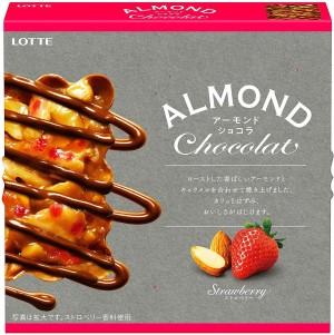 Запеченный миндаль с шоколадом и карамелью Lotte Almond Chocolate
