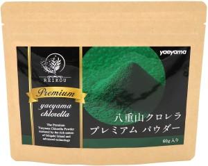 Порошок хлореллы Yaeyama Chlorella Premium Powder