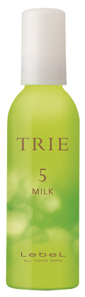 Молочко для укладки волос средней фиксации Lebel TRIE MILK 5